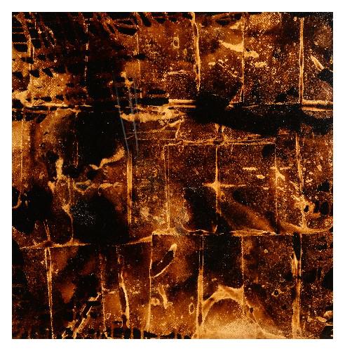 'Bubble' (100 x 100cm, oil & mixed media on canvas, 2009) £785