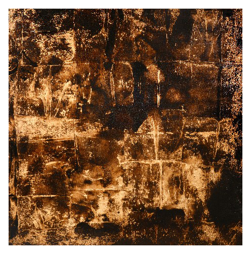 'Hot Water' (130 x 130cm, oil & mixed media on canvas, 2009) £850