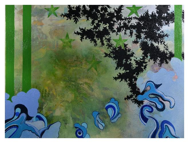 'St. E' (122 x 92cm, oil on canvas, 2014)