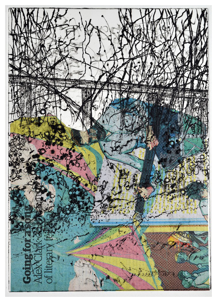 'Festival' (21 x 29cm, drypoint, 2016) EV 3/50