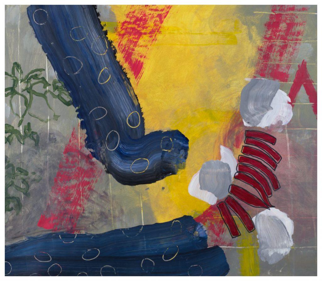 'Christmas Socks' (67 x 57 cm, oil on canvas, 2019)